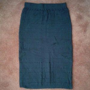 New in bag  black Pencil spandex skirt